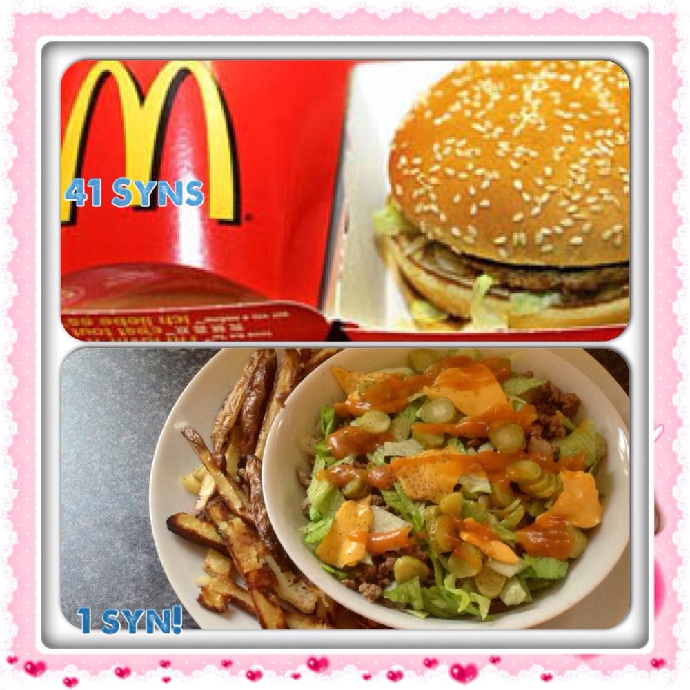 Big Mac in a bowl
