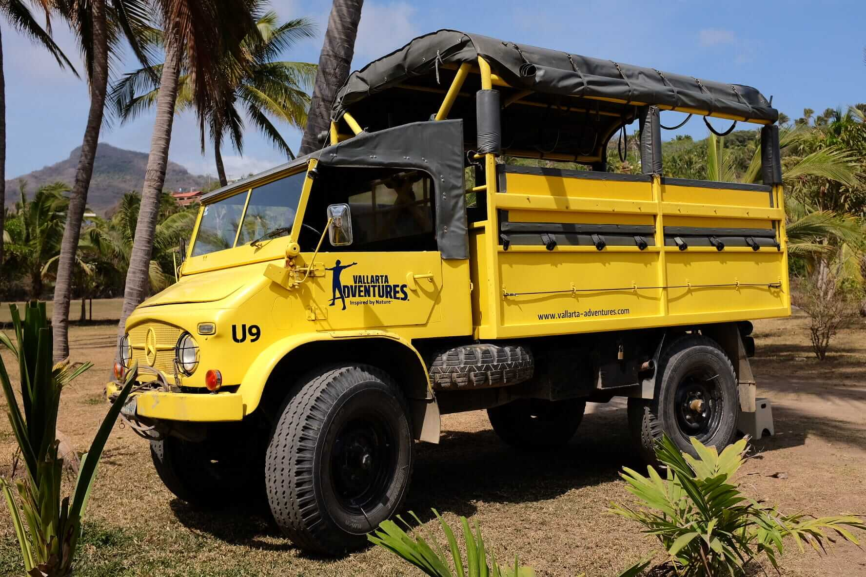 The yellow transport for the day