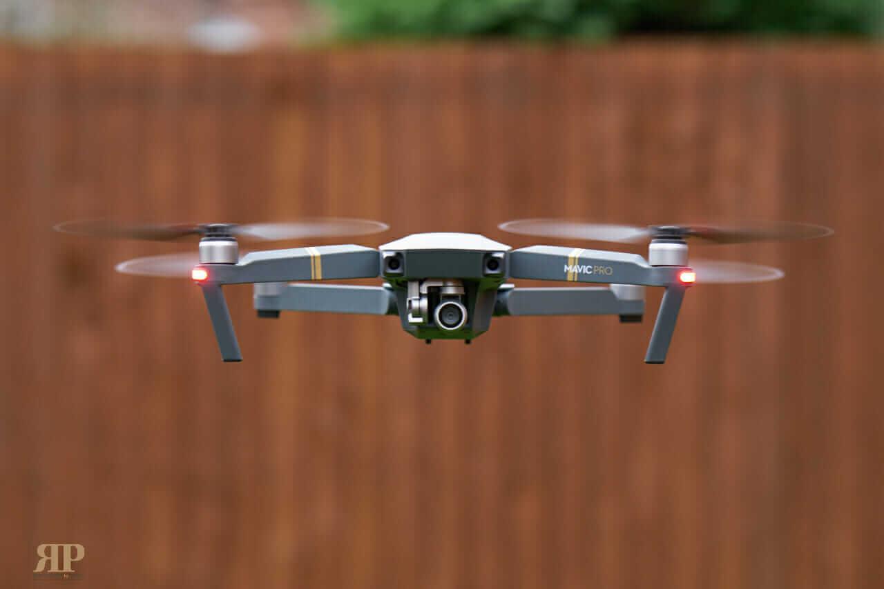 DJI Mavic Drone Flying