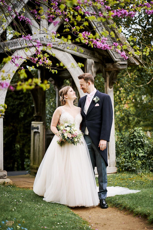 Holly Loughlan Wedding Crown Thistle Abingdon at Clifton Hampden Church Abingdon on 27 April 2019.