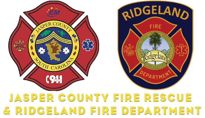 Jasper County Fire Rescue and Ridgeland Fire Department
