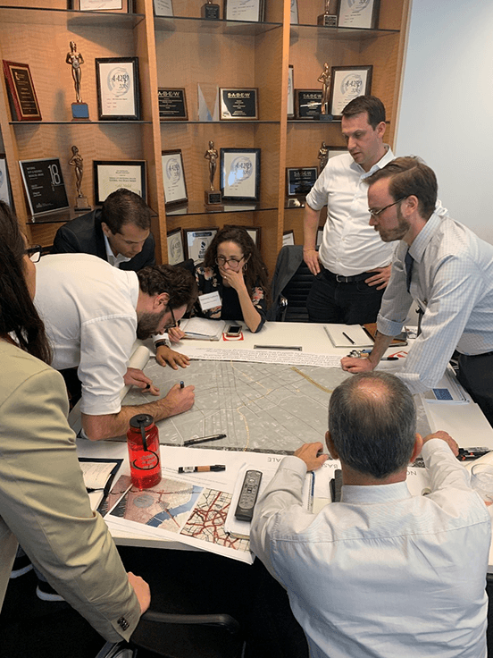 "The ""Northern"" team assessing how to reconcile I-345 and the potential D-2 subway line."