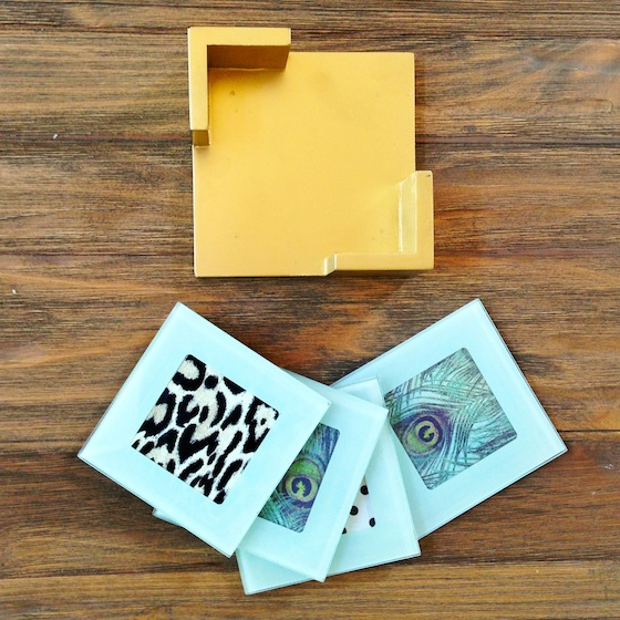 DIY-Paper-Coaster-Gold
