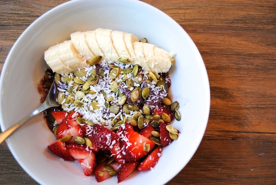 acai bowl-fruit-banana-health