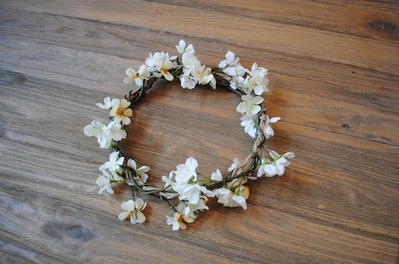 diy-flower crown-coachella- hippie -boho- bohemian
