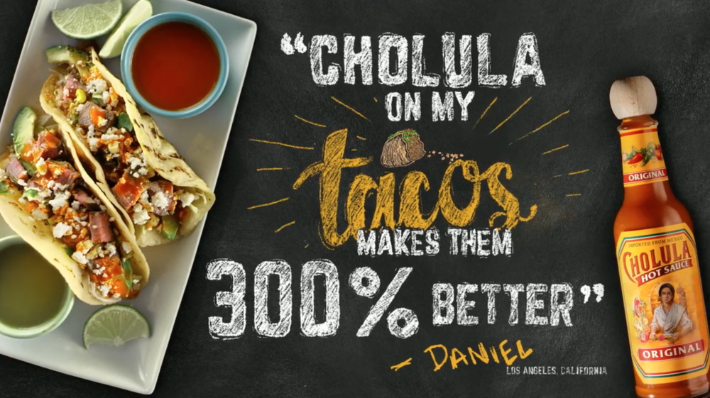 Cholula Hot Sauce