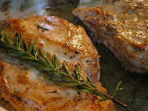 Pan Broiled Pork Chops Nutristahl