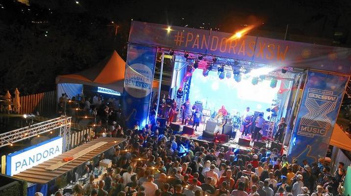 This year's Pandora stage