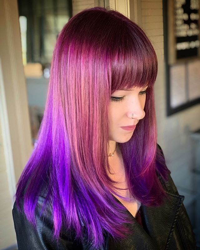 Nebula color melt designed by Lead Stylist @shearsri79 with help from @brittney_durham_  #patriciahillcolorstudio