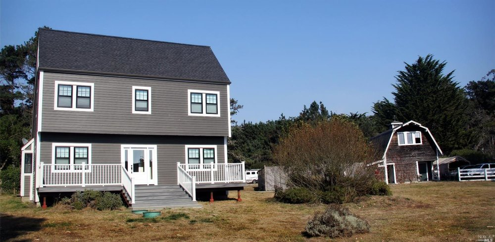11 Acres with salt box style home with ocean views   $752,000     Represented Seller