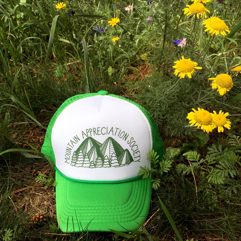 Mountain Appreciation Society hat