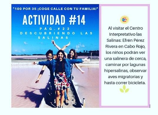 """Estas navidades explora Puerto Rico en familia con el libro """"100 x 35"""" por Bruny Nieves.  Disponible en nuestra tienda virtual: cuentos-verdes.com  #puertorico #turismointerno #explora #caborojo #familia #100x35 #aventura #aprende #libros"""