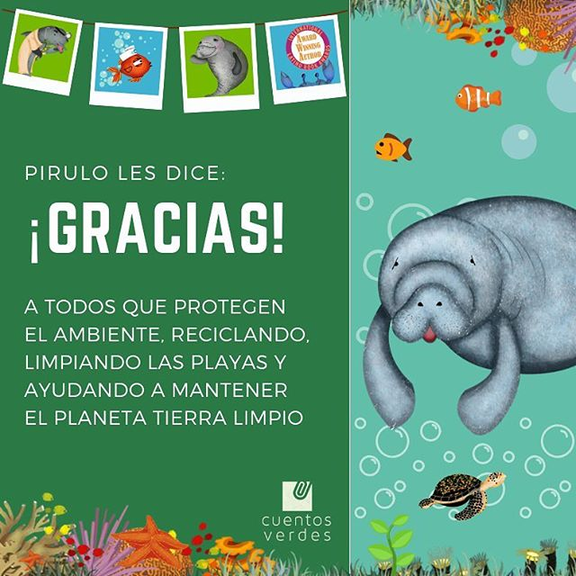 ¡Achú achú! Gracias #CelebremosGratitud 🌿  #literaturaambiental #educacionambiental #environmentaleducation #environmentalliterature #education #educacion #spanish #español #spanishtribe #spanishlanguage #spanishteacher #maestraespañol #spanish4teachers #flteach #profesele #intaenvironment #climateaction #change #green #nature #naturaleza #ecology #ecologia #savetheplanet #salvemoselplaneta #leer #read #childrensliterature #literaturaambiental #manatee