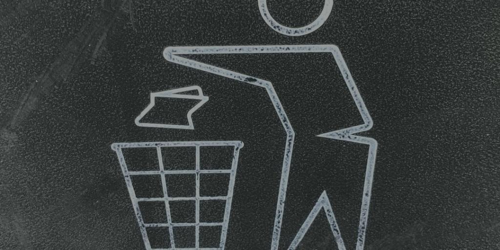 Wastebasket symbo