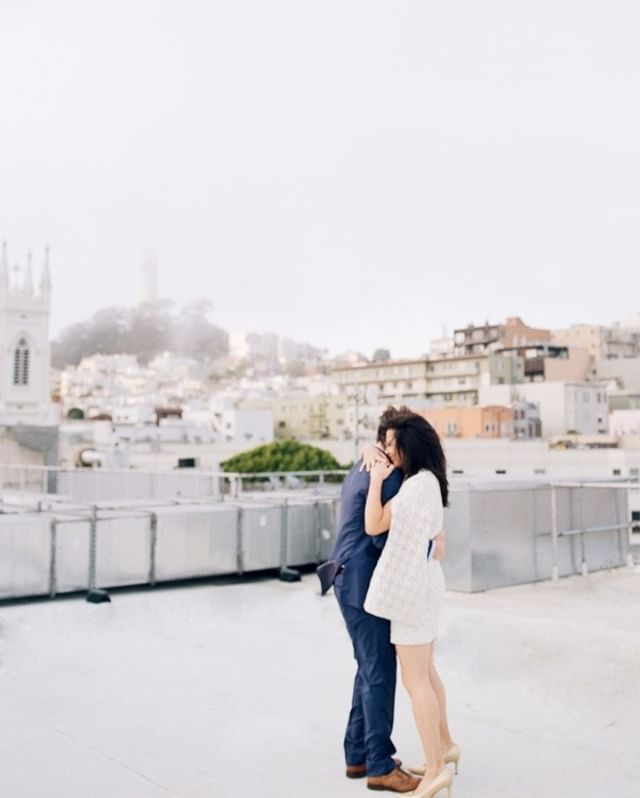 A July evening in San Francisco is usually cold and wet, in the best way.⠀⠀⠀⠀⠀⠀⠀⠀ ⠀⠀⠀⠀⠀⠀⠀⠀⠀ I love that as the day is ending, we are still taking pictures, and our hair is slightly messier. The thing my clients have to do in snuggle the person they love. Venue: @chinalive⠀⠀⠀⠀⠀⠀⠀⠀⠀ ⠀⠀⠀⠀⠀⠀⠀⠀⠀ #californiaphotographer #photographinglife #robinjolin #urban #chasinglight #lifestyle #sanfranciscowedding  #watchinglight #weddinginspo #rooftop  #loveme #light #contax645 #holdme #chinalive #ease #makestories #ishootfujifilm #be