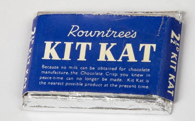 Kit Kat during World War II