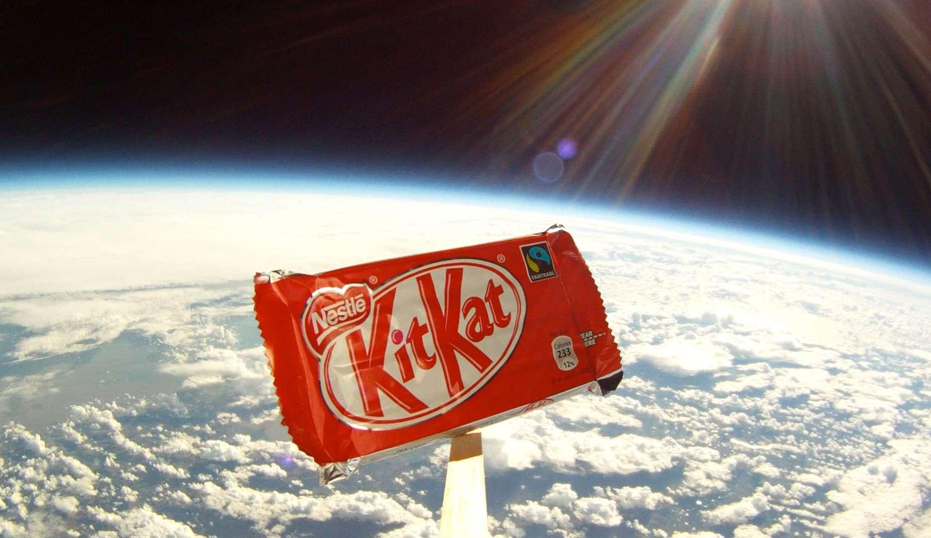 Kit Kat at Space