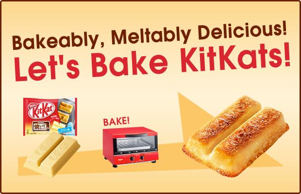 Let's Bake Kit Kats!