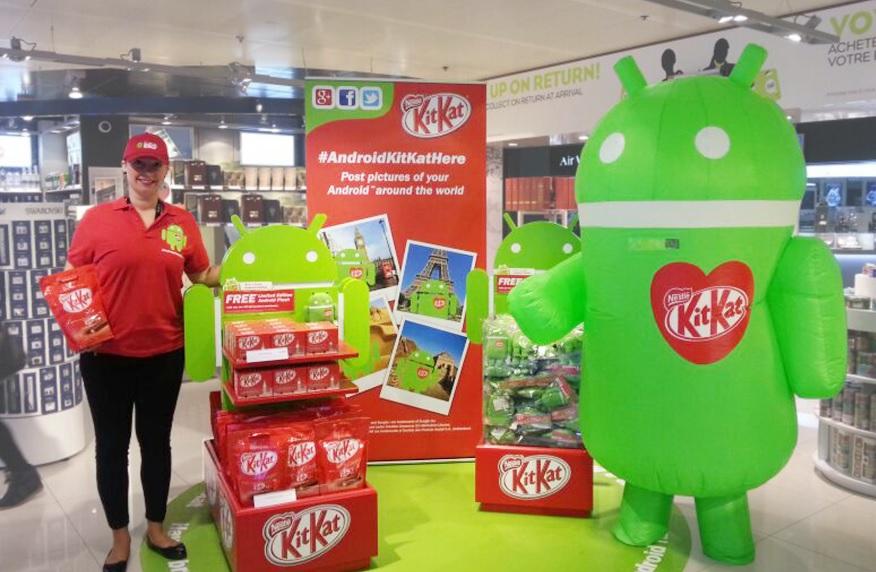 Kit Kat Store at Dubai