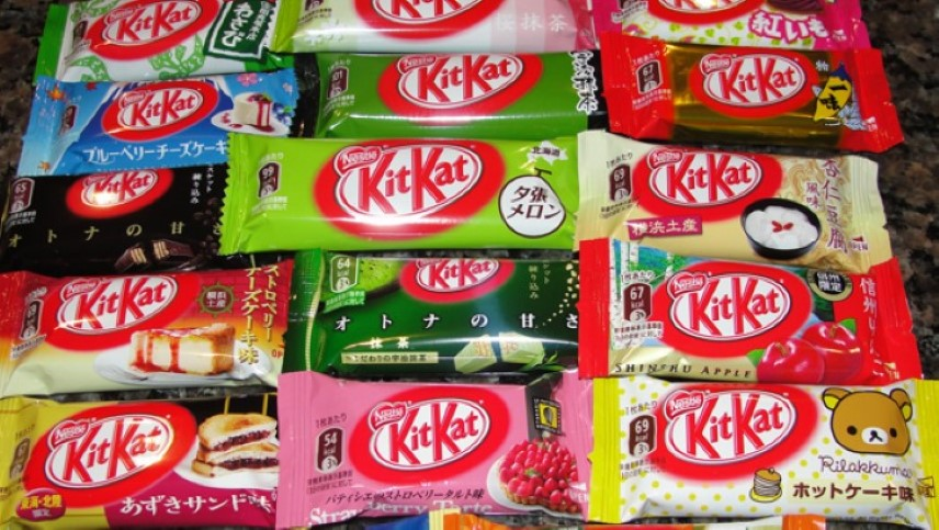 Kit Kats and the flavors