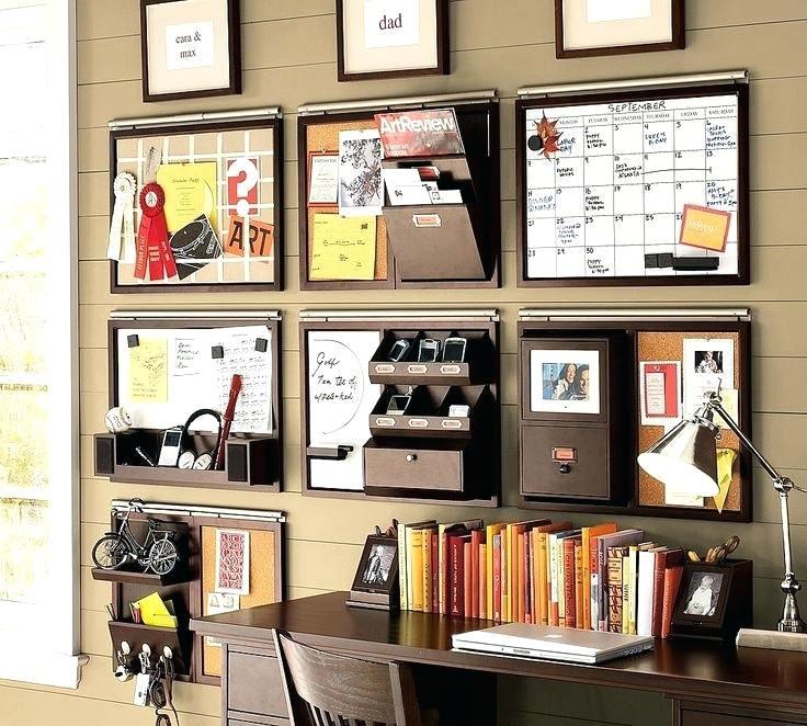 crafty office wall deco
