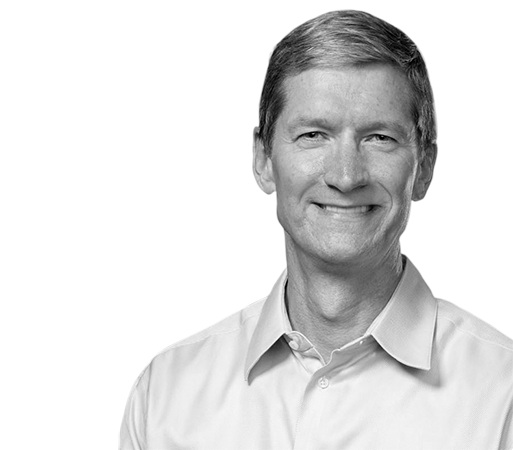 Tim Cook, Apple. Steve Jobs.