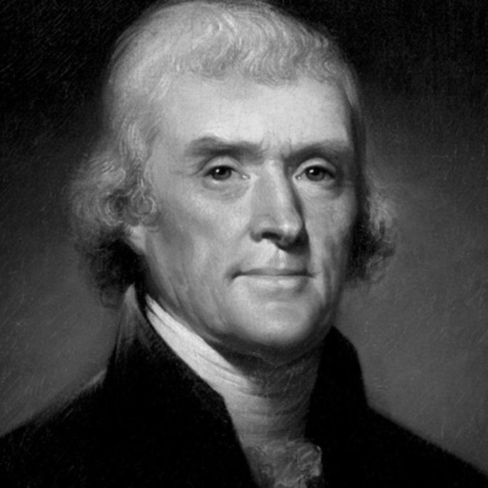 Thomas Jefferson, President. Advice to young man.