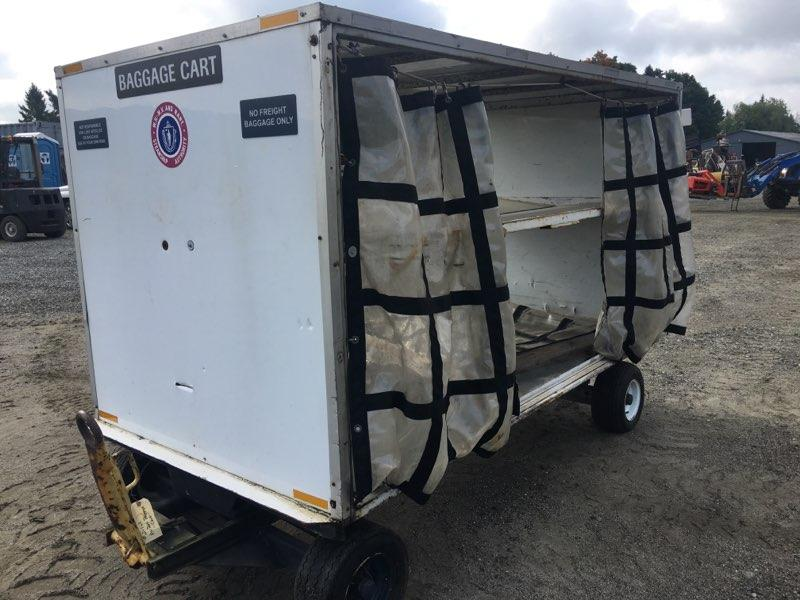 Luggage mover, wagon 4 wheel, brakes, back hitch. - $850