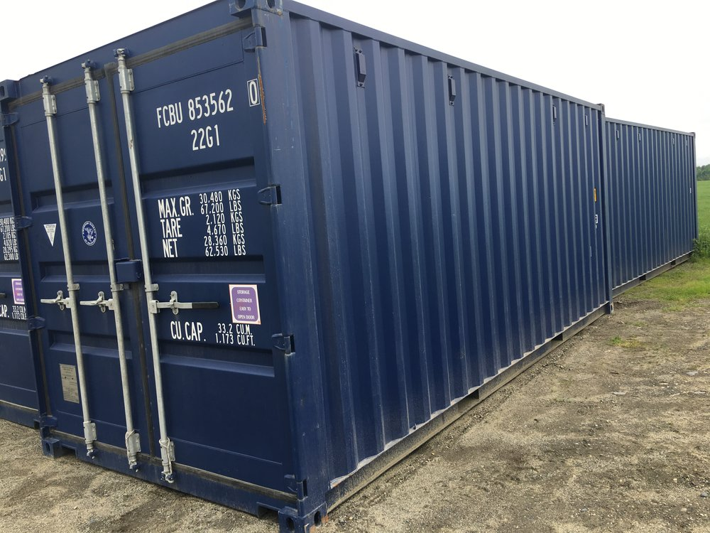 New 1 trip 20ft storage container with lock boxes and extra vents.Plus call for others and pricing at 802-766-5060 - $4,000