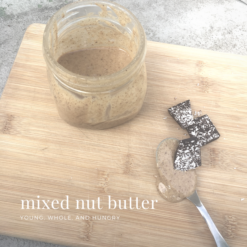 mixed nut butter-4