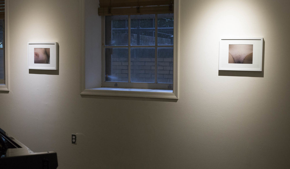 From Nat's solo exhibition  What Are You Looking At?  in Meyerhoff Piano Gallery (2017).
