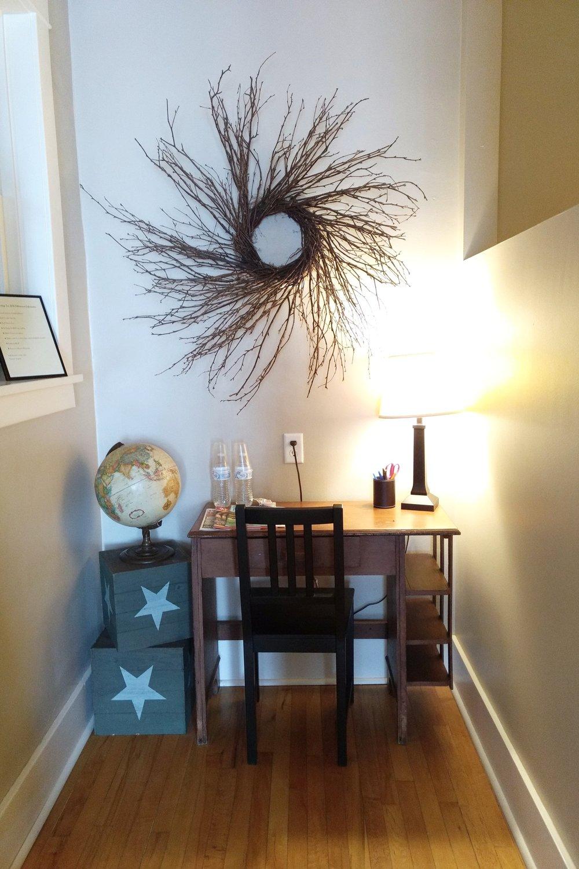 The Sunroom Suite Work Area