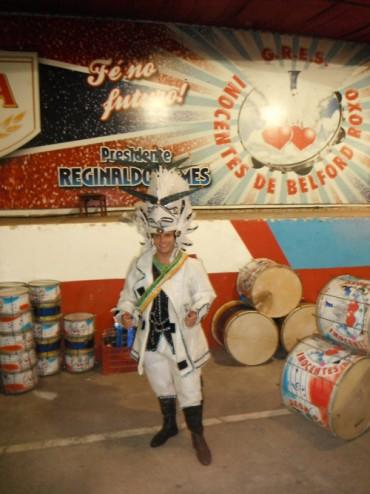 Jon Medow G.R.E.S. Inocentes de Belford Roxo Rio Carnaval  Escola de Samba Carnaval Rio de Janeiro  Sambadrome Marquês de Sapucaí Sambódromo Batucada Carioca Samba