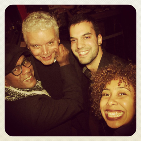Ian de Souza, Gordon Sheard, Marito Marques, Luanda Jones