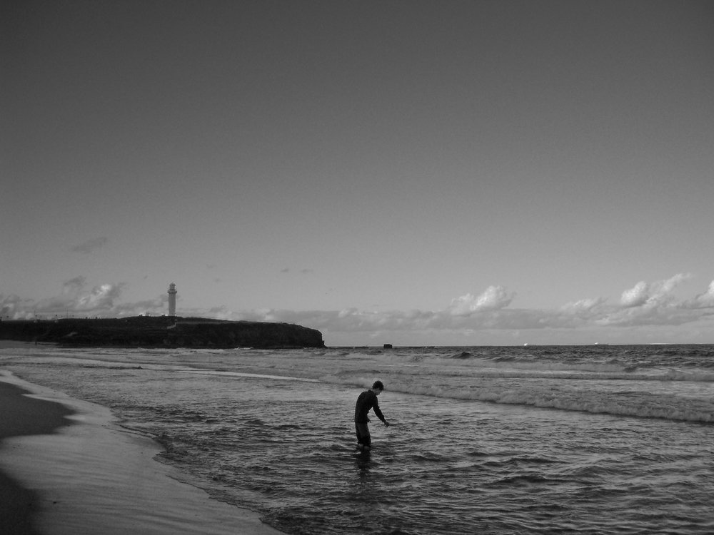 (end)  to love  (2007) 5.5 month durational project, Crossing Australia by foot. Video Still