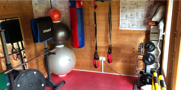 Facilities - View Inside My Private Gym