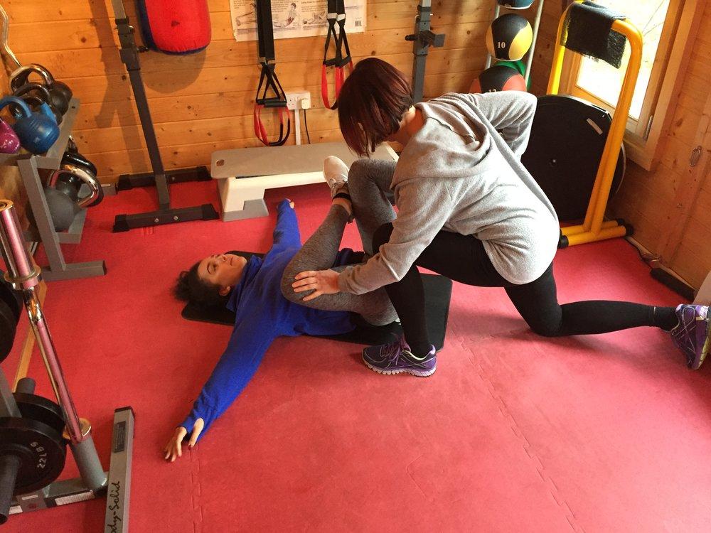 Personal Trainer Woking Stretching3.jpg