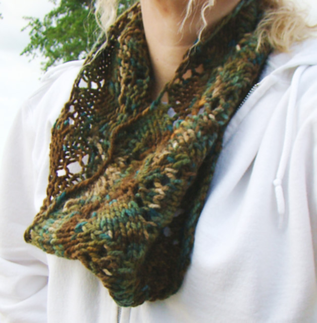 Redwoods Knit Cowl