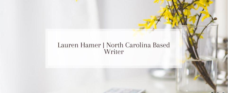 Lauren Hamer is a North Carolina based freelance writer