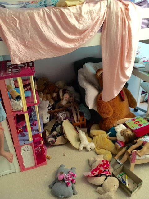 Little Girls Bedroom Before
