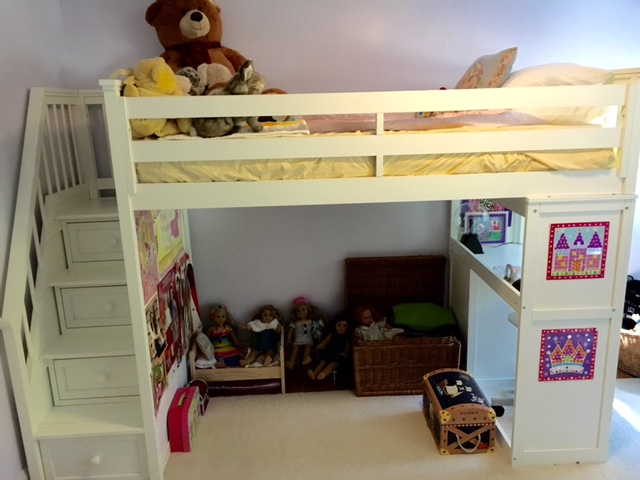 Little Girl's Room Before