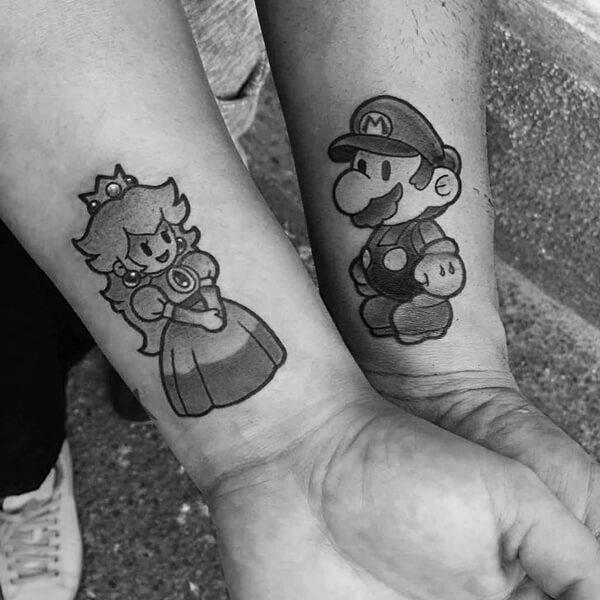 peach-mario-couple-tattoo.jpg