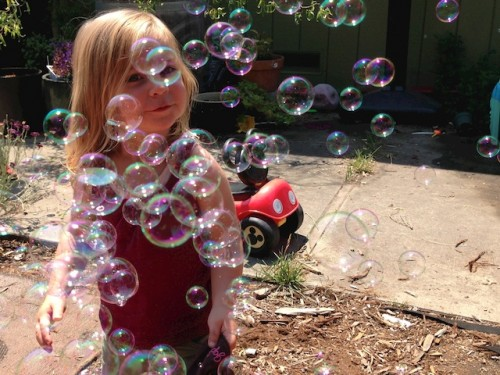 Bubbles - June Photo Hunt - Nurtured Mama.net
