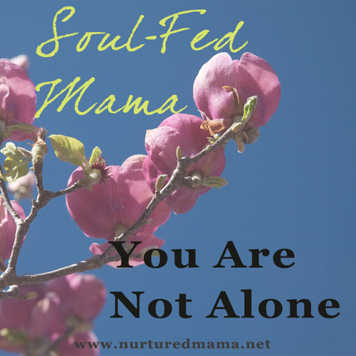 Soul-Fed Mama: You Are Not Alone | www.nurturedmama.net