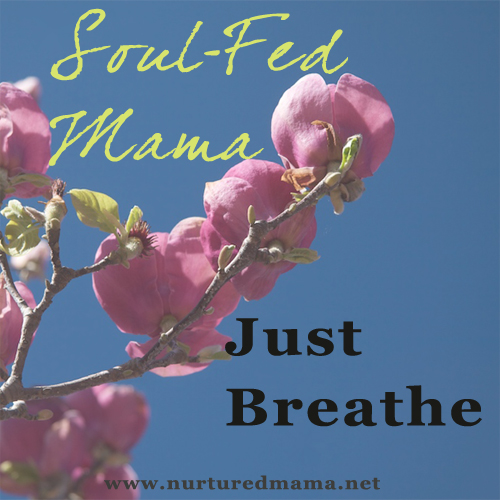 Soul-Fed Mama: Just Breathe | www.nurturedmama.net