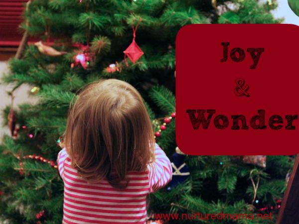 Joy & Wonder | www.nurtured mama.net