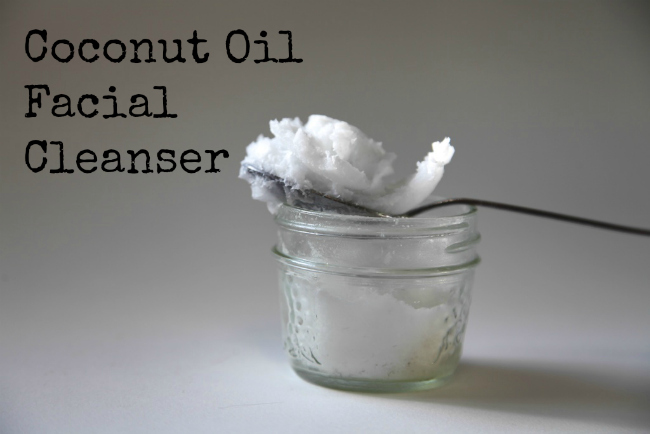 3 DIY beauty supplies made from coconut oil. Make facial cleanser, foot scrub, or shaving cream. :: nurturedmama.net