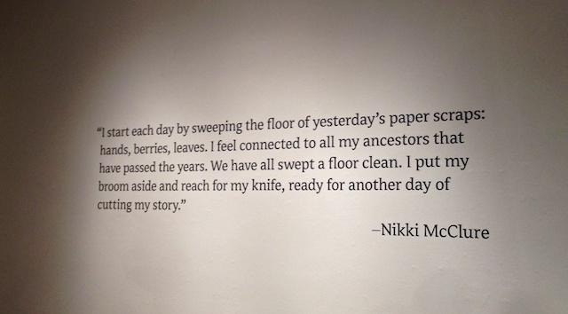 A gallery walk with Nikki McClure: Art As Life :: Nurturedmama.net