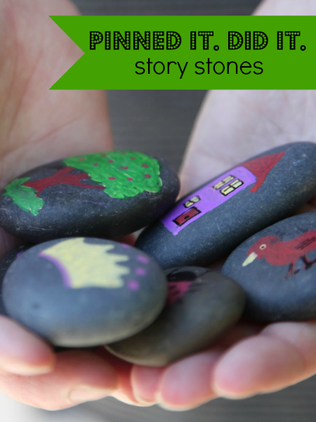 Story stones are great for imaginative play - make your own! :: nurturedmama.net
