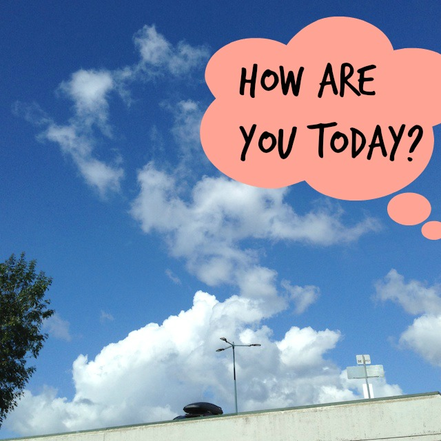 "A Better Way To Ask ""How Are You Today?"" :: www.nurturedmama.net"
